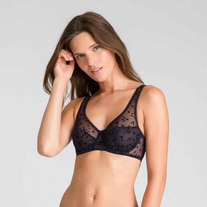 Limited edition Generous black underwired bra - DIM