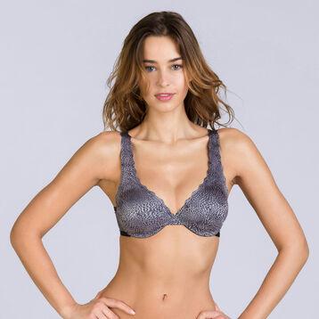 Soutien-gorge foulard imprimé léopard Beauty Lift-DIM
