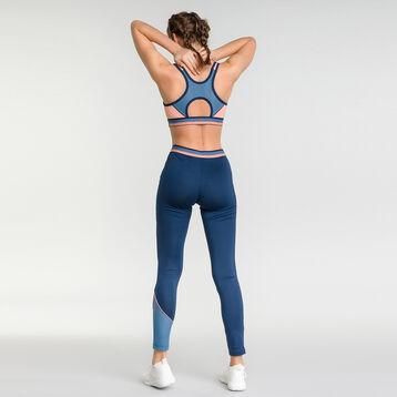 Legging de sport femme bleu intense - DIM Sport, , DIM