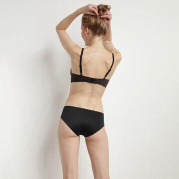 Non-wired black triangle bra New Body Touch Libre by Dim, , DIM