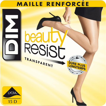 Collant Beauty Resist ambre Transparent 15D-DIM