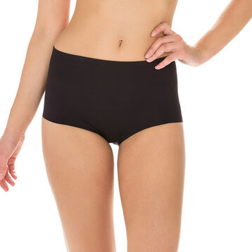 Black Diam's Control Plus slimming knickers, , DIM