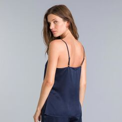 Winter Dream navy blue vest top - DIM