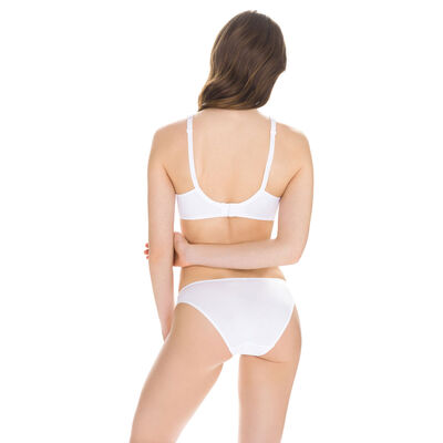 EcoDIM Confort cotton bikini knickers in white, , DIM