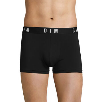 Black trunks in modal and cotton - DIM Originals, , DIM