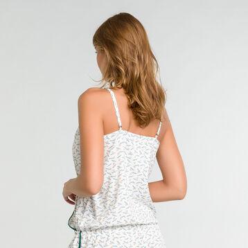 Combishort pyjama à imprimés citrons - DIM Odyssée, , DIM