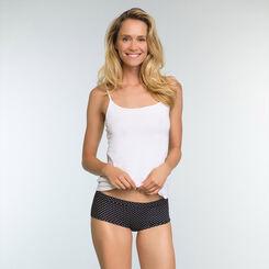 2 Pack Women's Shortys in Black and Polka Dot  Body Mouv, , DIM