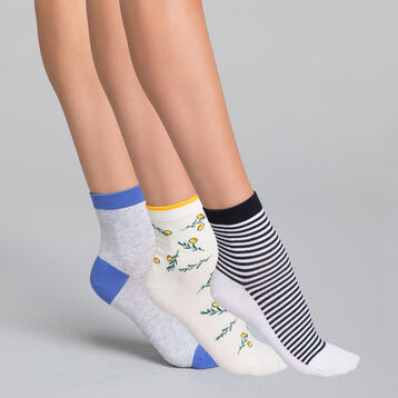 3 pack Odyssée low socks - Pocket Coton , , DIM