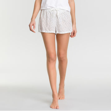 Pyjama shorts with white spots - Fashion, , DIM