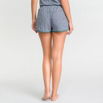 Short pyjama à motifs verts - DIM Odyssée, , DIM