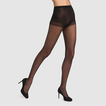 Beauty Resist Silhouette Fine 15 sculpting tights in black, , DIM
