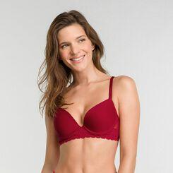 Imperial red push up bra - Dim Sublim Dentelle, , DIM