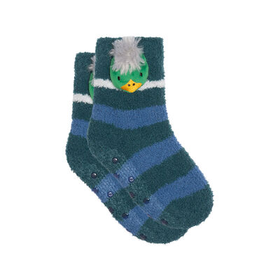 Non-slip Kids Cocoon 3D Duck Head Sock 3D Kids Cocoon Green, , DIM