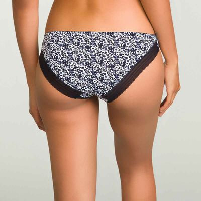 Women's ceramic print invisible microfiber briefs Invisifit, , DIM