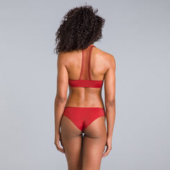 Trendy Micro copper red Brazilian knickers - DIM