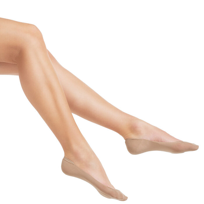 Semelle Anti-Choc 40 cushioned footies in nude, , DIM