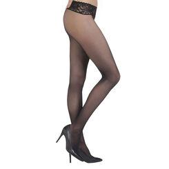 Black DIM Signature Sensation Nue 31 bare sensation tights, , DIM
