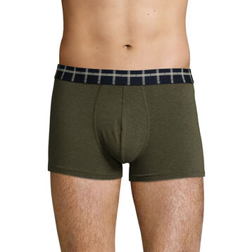 Boxer pour homme Chiné vert Limited Edition The Adventurer, , DIM