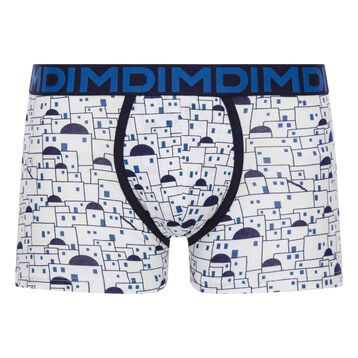 White trunks with blue patterns - Dim Mix & Fancy, , DIM