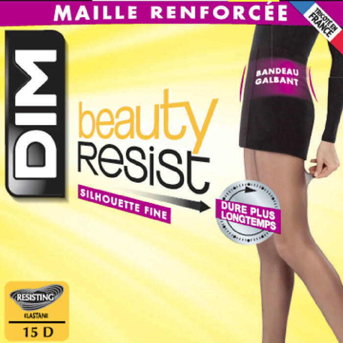 Beauty Resist transparent slim silhouette Majorca tights, , DIM