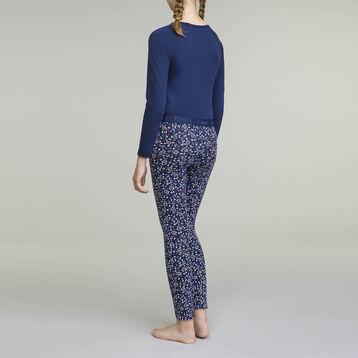 Pyjama manches longues pour fille 2 pièces Matelot Bleu , , DIM