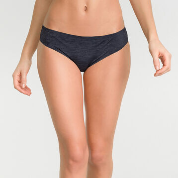 Invisible dark blue Knickers - Dim InvisiFree, , DIM