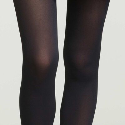 Women's eco-friendly recycled polyamide 60 tights in Black Green by Dim, , DIM