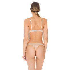 Barely beige Invisi Fit non-wired push-up bra, , DIM