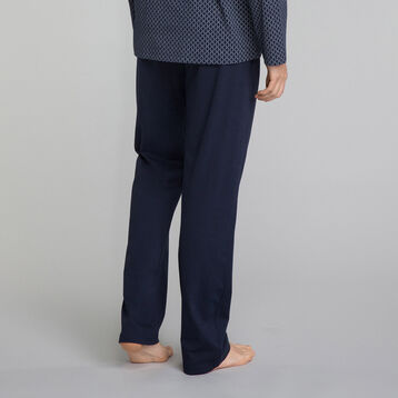 Pantalon pyjama bleu marine - Mix and Match, , DIM