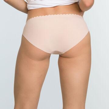Lot de 2 culottes Violet Précieux et Skin Rose Body Touch Microfibre, , DIM