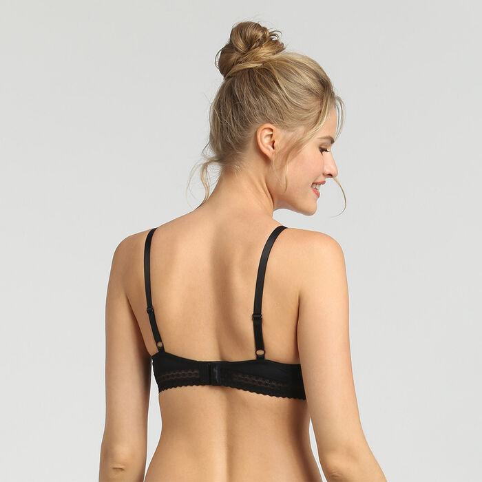 Soutien-gorge push-up avec armatures noir Trendy Micro de Dim, , DIM