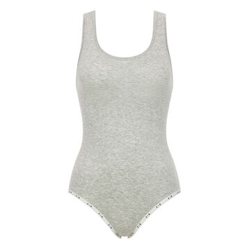Body gris chiné en coton femme - DIM Originals, , DIM