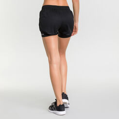 Black run sport shorts- Dim Sport, , DIM