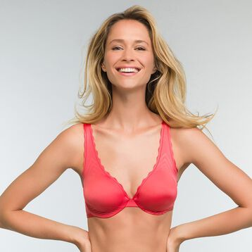 Red foulard bra Dim Beauty Lift, , DIM