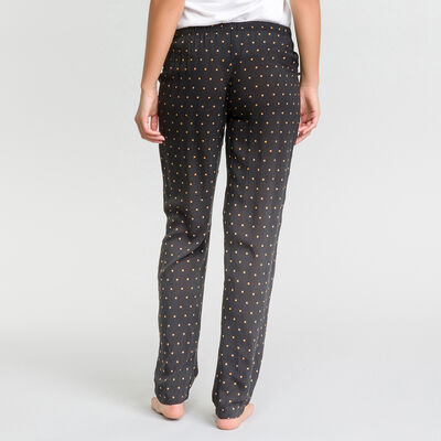 Polka dots black pyjama pants - Fashion, , DIM