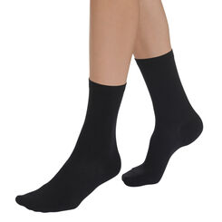 Black Sublim hydrating socks for women, , DIM