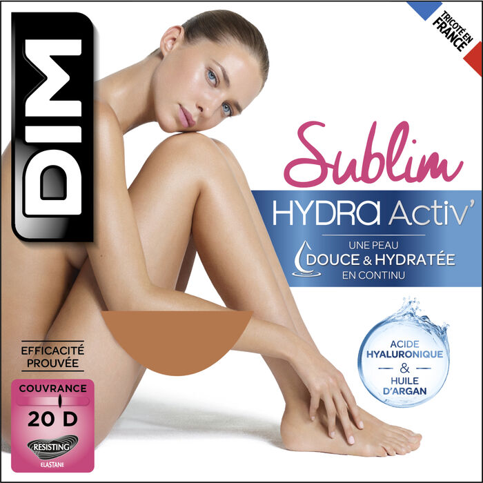 Moisturizing Sublim Gazelle 20 Tights - Dim Sublim HydraActiv, , DIM