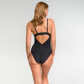 Women bodysuit in black lace - MOD de Dim, , DIM