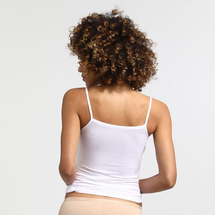 Pockets white cami, , DIM