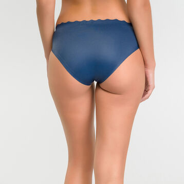 Microfibre knickers in summer night blue - Dim Beauty Lift, , DIM