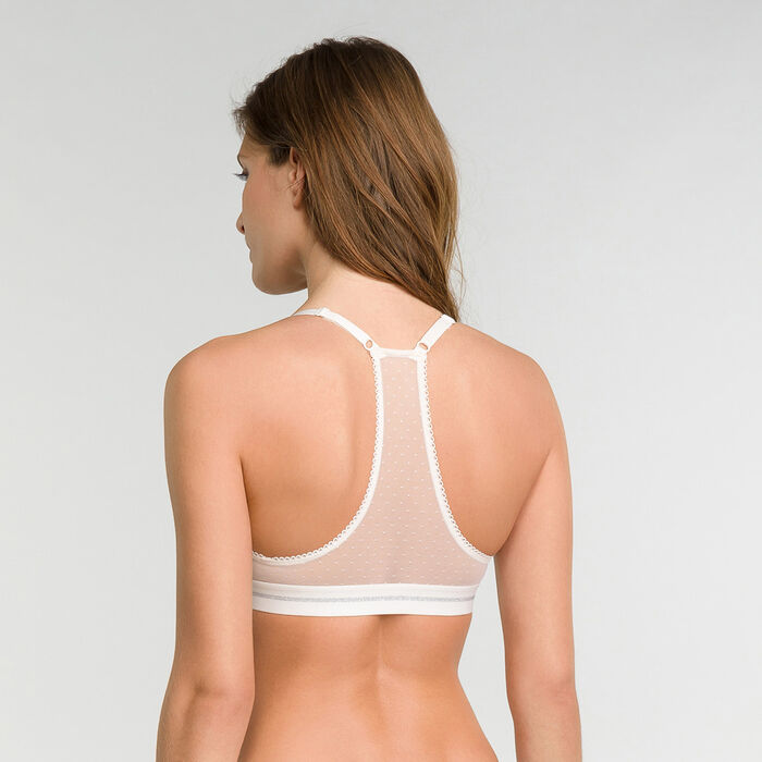 White non-wired bra - Dim Trendy Micro, , DIM