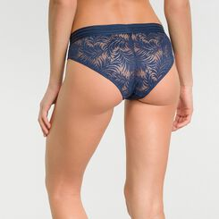 Dark blue lace shorty - MOD de Dim, , DIM