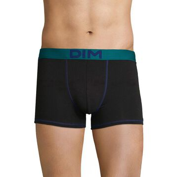Boxer noir ceinture lie de vin Mix & Colors-DIM