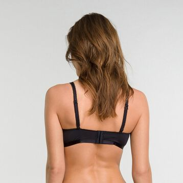 Balconnette bra in black lace - Dim Daily Glam Trendy Sexy, , DIM