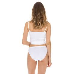 Lot de 2 slips mini blancs Femme Coton Plus Bio-DIM