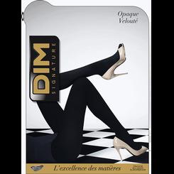 Collant noir DIM SIGNATURE Opaque Velouté 60D-DIM