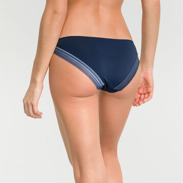 Invisible summer night blue knickers - DIM Invisifit, , DIM