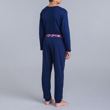 DIM Camouflage 2-piece sailor blue pyjama set  - DIM