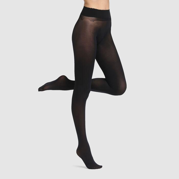 Panti ultraopaco de talle bajo sin costuras Body Touch de Dim 60D, , DIM