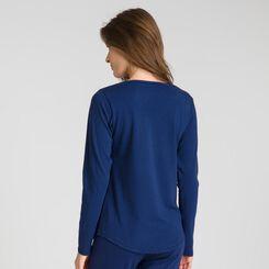Soft & Cool sailor blue long-sleeve T-shirt - DIM